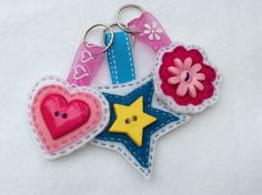 Made these Key Rings for Craft shows - make your own via our Tutorial:  http://minimixkidsdesigns.wordpress.com/2013/07/11/make-your-own-key-ring-minimix-style/