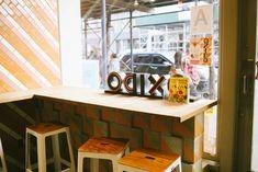 oxido nyc - Google Search Mexican Restaurant Design, Corner Desk, Nyc, Google Search, Furniture, Home Decor, Corner Table, Decoration Home, Room Decor