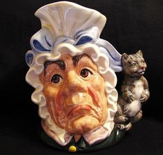 Royal Doulton Toby Jug The Cook and the Cheshire Cat