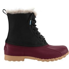 Stand up to those frigid days knowing your feet are good to go with the NativeJimmy Winter boot! Features a trendy duck boot design Combination coated ripstop