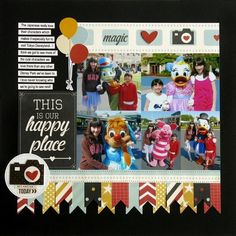 Snippets By Mendi: Simple Stories Say Cheese Disney Layouts