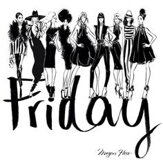 HAPPY FRIDAY EVERYONE!! This Friday my love and thoughts go out to all the amazing women and men from @ocrf