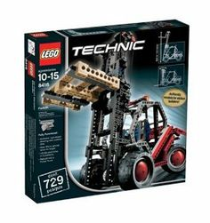 Buy LEGO 8416 Technic Forklift Building Toys and Games at online store Lego Structures, Lego Technic Sets, Lego Kits, Toy Packaging, Buy Lego, Holiday Deals, Toys Online, Lego Building, Telescope