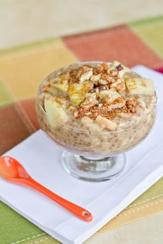 10 Minute Apple Pie Oatmeal