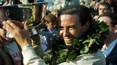 Monte Carlo, May 1963: Jim Clark took pole position for the Monaco Grand Prix but then retired his Lotus 25 from the race. Description from formula1.com.