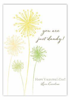 Just Dandy Valentine Card