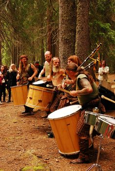 REAL men beat the sh*t outta some drums.just feels real tribal, savage kinda and good.Zen/O Books Art, Scottish Music, Instruments, Brave, Highland Games, Celtic Music, Men In Kilts, Folk Music, Scottish Highlands