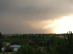 Taken from Aurora looking south to Colorado Springs