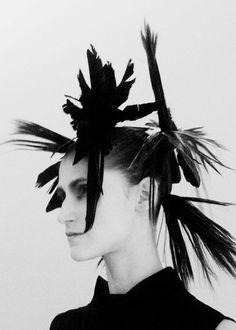 Daiane Conterato at Ann Demeulemeester AW12: http://www.dazeddigital.com/fashion/article/17949/1/ann-demeulemeesters-most-subversive-moments