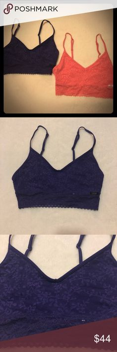 3feae88f3 Set Of 2 NWT Calvin Klein Lace Bralette Medium I have a Set Of 2 NWT
