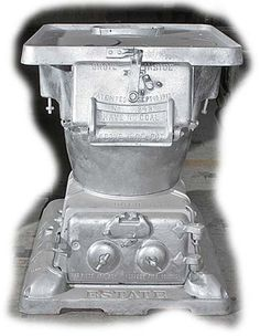 Caboose Stoves Estate Smoke Consumer Hot Blast Antique