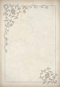 Printable Border, Printable Frames, Templates Printable Free, Free Printable Wedding Invitations, Vintage Invitations, Page Borders Design, Border Design, Wedding Borders, Wedding Invitation Background
