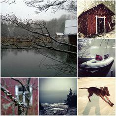 Early winter. Archipelago. Tammisaari, Ekenäs, Finland.