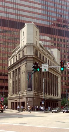 Most cities have a Flatiron building–it always seems there's one spot where the streets come together at an angle and leave an awkward space, and being downtown, someone has to build on…