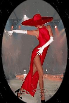 Lady in red Black Girl Art, Black Women Art, Black Art, Art Girl, Moda Art Deco, Art Deco Cards, Estilo Art Deco, Dance Paintings, Art Deco Stil
