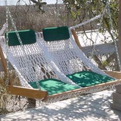 Double Rope Porch Swing