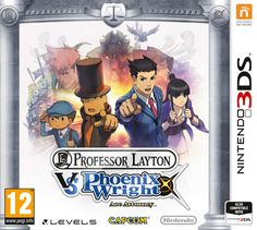 Boxart van Professor Layton vs. Phoenix Wright: Ace Attorney (3DS), Level-5