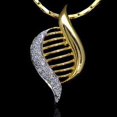 14k Yellow Gold Natural Top 0.26 Carat Diamond Ladies Pendant summer sale gift #Pendant