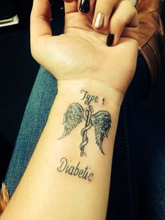 Type 1 diabetic tattoo #diabetestattoo