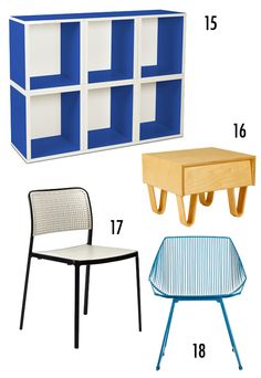 Originally from Fab, I love the idea of painting a hacked ikea piece this way.