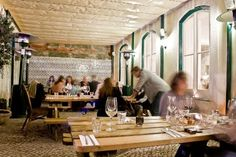 THE DECADENTE. This restaurant in Lisbon is located in Barrio Alto area.