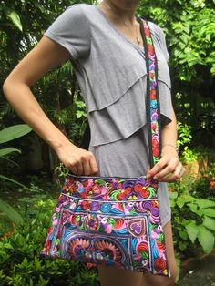 Hmong Old Vintage Style Ethnic Thai Boho by LannaThaiCreations