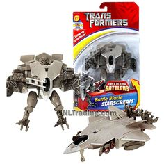 Transformer Year 2006 Fast Action Battlers Series 6 Inch Tall Figure - – JNL Trading Transformers Action Figures, Transformers Toys, Transformers Energon, F22 Raptor, Transformers Collection, 6 Inches, Fighter Jets, Battle, Neymar