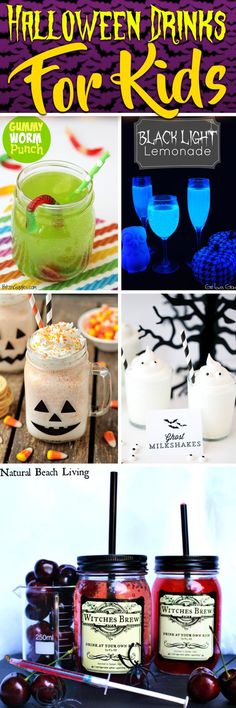 25 Halloween Drinks For Kids Blending Flavor With Much Needed Spookiness #halloween #drinks #kids
