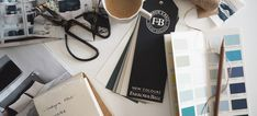 Farrow & Ball has unveiled nine new handsome paint colours, my top pick is Inchyra Blue, a dark blue-grey that brings to mind moody skies and seas Fb News, Inchyra Blue, Dark Blue Grey, Colour Board, Farrow Ball, Home Decor Inspiration, Paint Colors, Colours, My Favorite Things