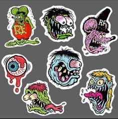Cartoon Styles, Cartoon Art, Ed Roth Art, Hot Rod Tattoo, Arte Punk, Pinstripe Art, Doodle Art Drawing, Skate Art, Grafiti