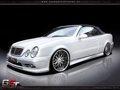 Mercedes CLK W208 Spoiler Set Body Kit Tuning Umbau neu Verbau