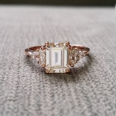 The Cut Of Diamond That Is Totally Trending Right Now - Emerald Cut