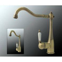 serie sina retro bad waschbecken waschtisch einhebel armatur ... - Nostalgie Wasserhahn Küche