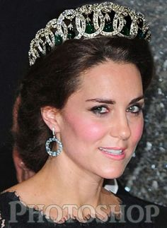Vladimir Tiara with Cambridge emeralds