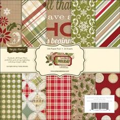PRE-ORDER Handmade Holiday Paper Pad 6X6 36 Sheets [255720] - $5.99 : Yours for Keeps Scrapbooking, create.share.laugh.capture.memories