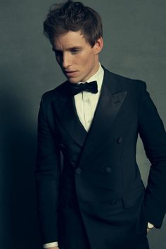 Eddie Redmayne, photographed by Dove Shore, Jan 2015.