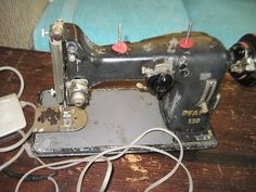 Mid Century Pfaff 130 Touch and Sew Sewing by Daysgonebytreasures