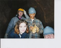 Yes, a school backed by BSA can go wild caving!