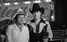 John Travolta at the Urban Cowboy Premiere at Gilley's in 1980 - we love those 10 gallon hats!