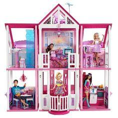 "Exclusive Barbie Malibu Dreamhouse - Mattel - Toys ""R"" Us-Girls for Christmas"