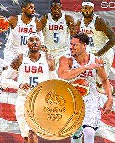 U.S.A takes GOLD! Kevin Durant drops 30 Pts as Team USA beats Team Serbia to win 3rd consecutive men's Olympic Basketball GOLD in Rio, 96-66.