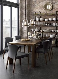 chairs Flynn Dining Table