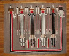 Other Fine Southwest Collectibles Native American Blanket, Native American Rugs, American Indians, Navajo Weaving, Navajo Rugs, Navajo Pattern, Navajo Nation, Sand Painting, Indian Artifacts