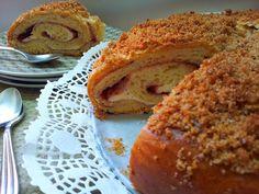 ...alchymie (ne)jen Blízkého východu: Točený koláč s tvarohem a povidly