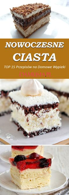 Cookie Desserts, Cake Cookies, Tiramisu, Cheesecake, Food And Drink, Cooking, Ethnic Recipes, Poland, Baking
