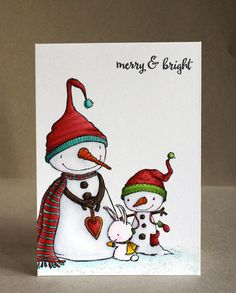 Happy weekend, my friends! Here is a card that I made using a few super duper cute stamps from...