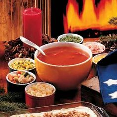Looking for something to get you through these last few weeks of winter? Try this soup bar.