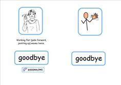 Signalong Bookle tSocial Signs p.3 & 4 Goodbye.jpg 1,754×1,240 pixels: