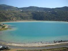Lake of Venus Pantelleria. Sicily