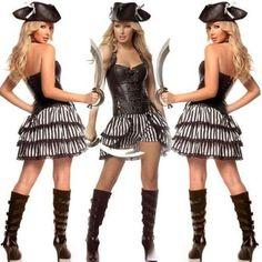 Novo-vestido-sexy-Pirata-Feminino-Femea-Cosplay-de-Halloween-Fantasia-Festa-Fantasia